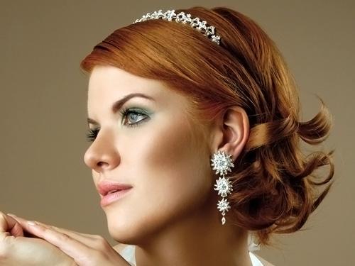 Фотографии лучших свадебных причесок с короткими волосами