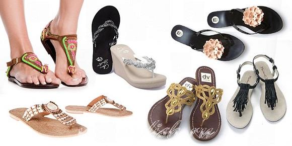 Модная пляжная обувь 2013