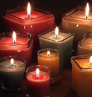 Ароматические свечи опаснее сигарет