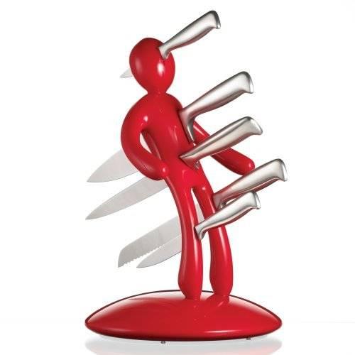 Самые необычные дизайнерские подставки для ножей