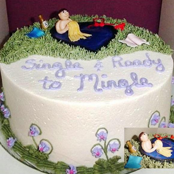 В Европе развод не обходится без торта
