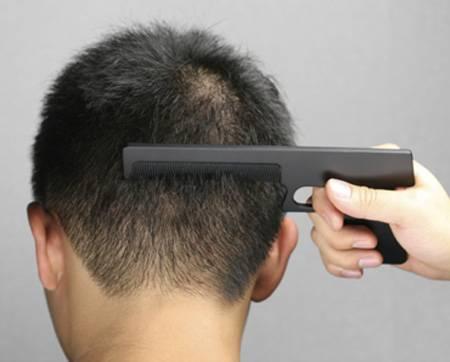Оригинальный дизайн расчески для волос