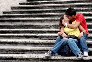 Несколько фактах о поцелуях