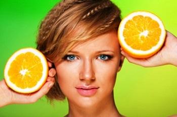 Отбеливание кожи лица апельсиновой кожурой