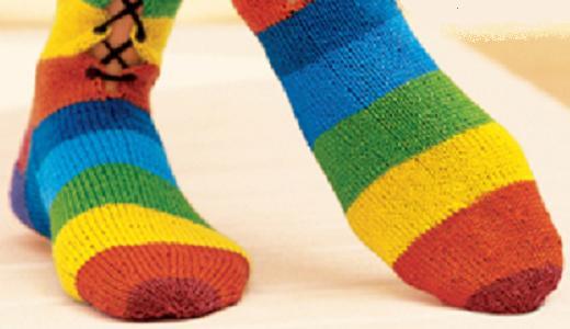 Фотоподборка дизайнерских носков