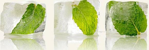 Косметические ледяные кубики для лица, шеи и зоны декольте