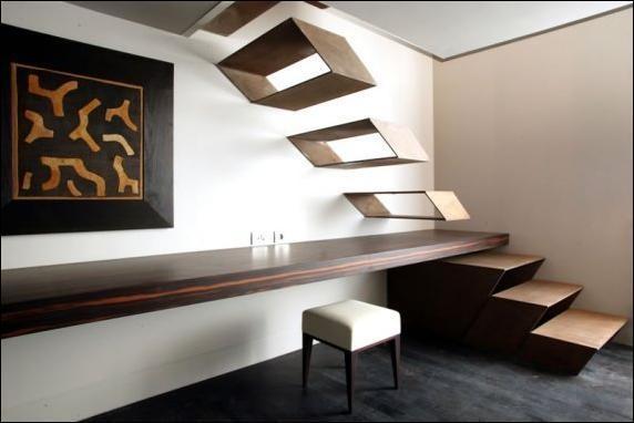 Интересные дизайнерские лестницы