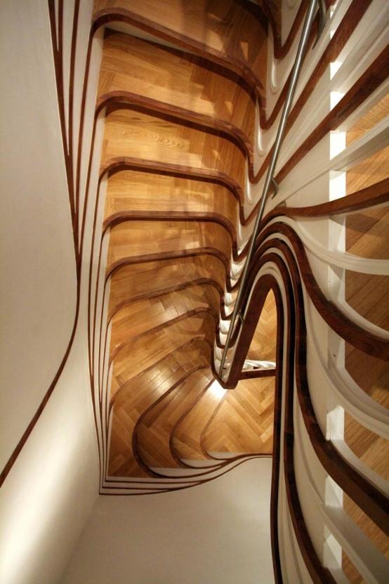Дизайн лестниц для дома и офиса