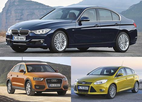 Названы лучшие автомобили для женщин 2012 года
