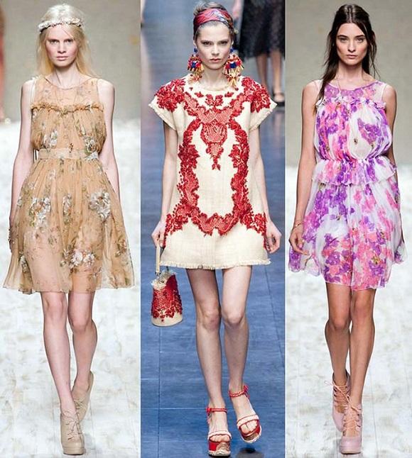 Летние модные платья сезон 2013