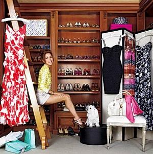 Женский гардероб — один из секретов успеха