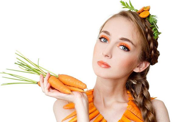 Волшебная сила морковных масок