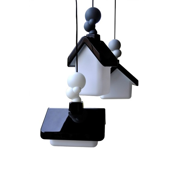 Сказочные домики-светильники от Kristian Aus