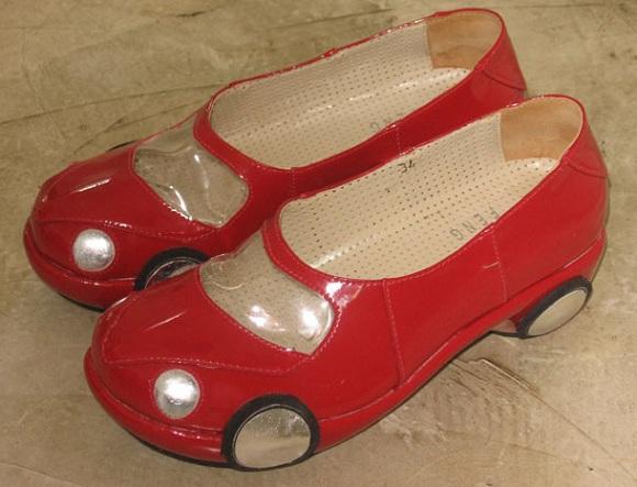 Женская обувь для вождения автомобиля
