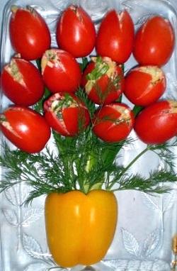 Салат Тюльпаны, рецепт съедобные цветы