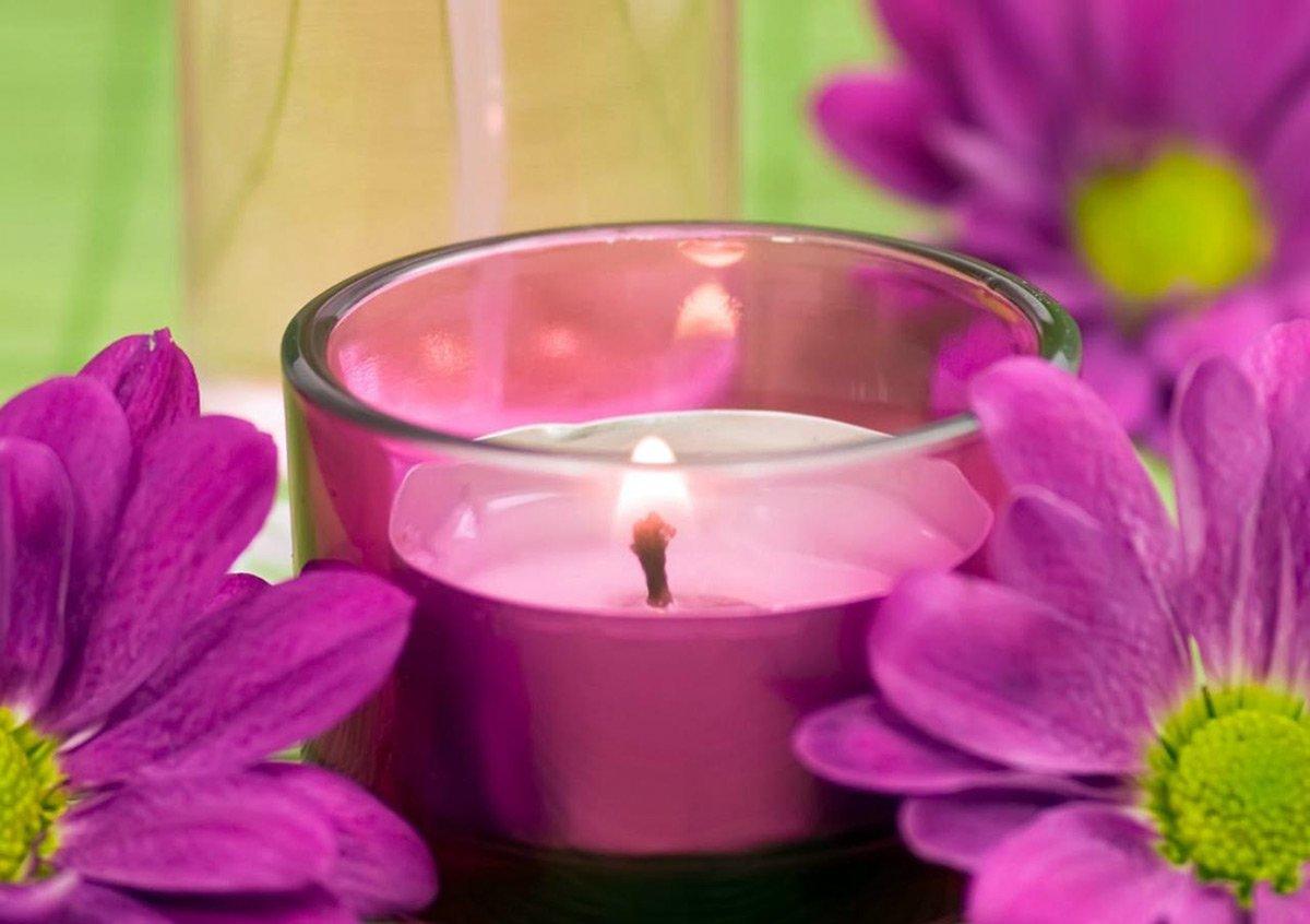 Как сделать ароматическую свечу в домашних условиях