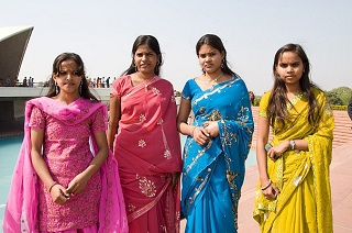 Красота по-индийски в гармонии с природой