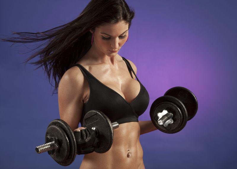 Упражнения для увеличесния объема груди