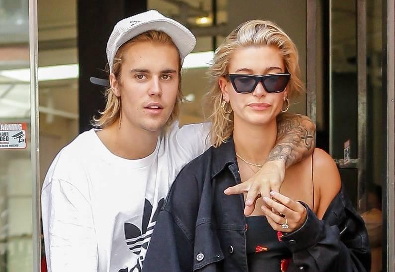 Джастин Бибер с женой