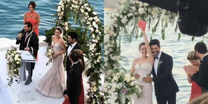 Бурак Озчивит и Фахрие Эвджен свадьба