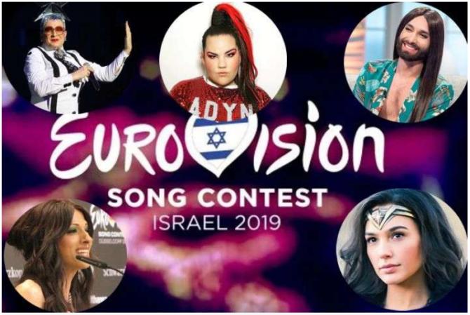 Звезды прошлых лет на одной сцене Евровидения