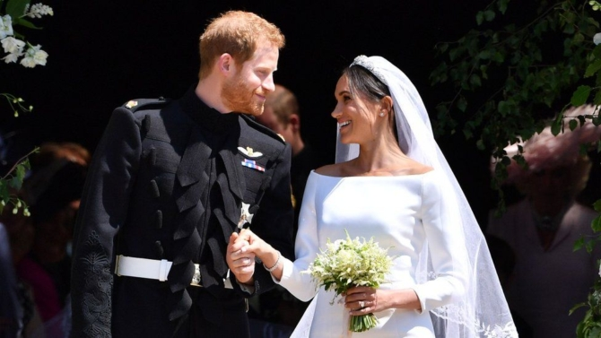 Гарри и Меган свадьба