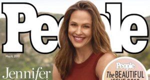 Дженнифер Гарнер на обложке журнала People
