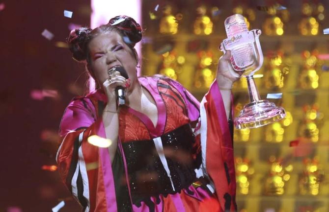 Звезды прошлых лет на одной сцене Евровидения. Нета Барзилай