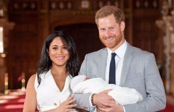 Ребенок принца Гарри и Меган Маркл