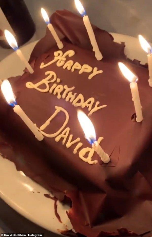 Что подарили Дэвиду Бекхэму на день рождения