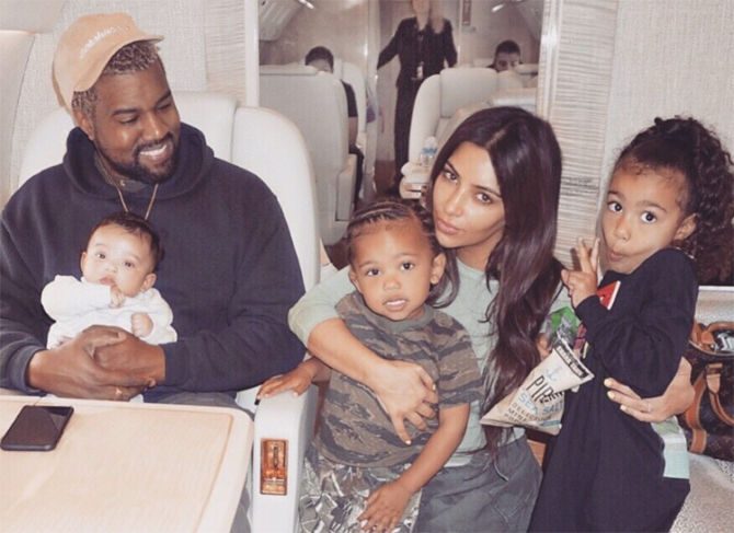 Ким Кардашьян: бренд из имени ребенка и другие новости