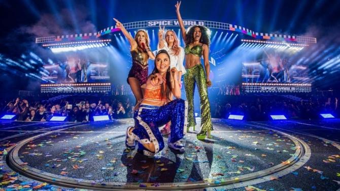 Первый концерт Spice Girls. Поздравления и скандалы