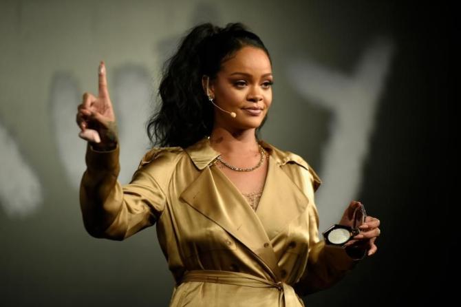 Рианна - самая богатая певица по версии Forbes-2019